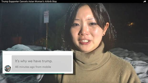 Wurde die AirBnb-Reservierung wenige Minuten vor der Schlüsselübergabe abgesagt: die Jura-Studentin und Amerikanerin Dyne Suh aus Riverside in Kalifornien.