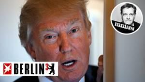 Kein Zimmer für Donald Trump in Hamburg - Berlin hoch 3 von Axel Vornbäumen