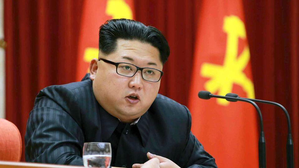 Der nordkoreanische Dikatator Kim Jong Un