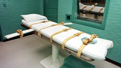 Die Todeszelle des berüchtigten Huntsville-Gefängnisses in Texas. Amnesty International zählte die Todesurteile weltweit.