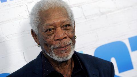 """US-Schauspieler Morgan Freeman bei der amerikanischen Premiere des neuen Kinofilms """"Abgang mit Stil"""""""