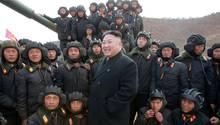 Nordkorea Kim Jong Un Militär
