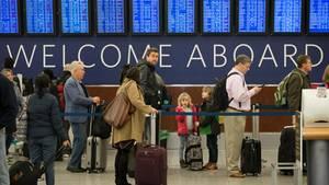 Am Flughafen in Atlanta