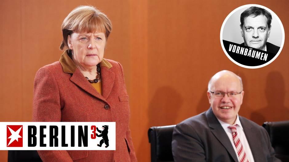 Bundeskanzlerin Angela Merkel setzt im Bundestagswahlkampf auf Peter Altmaier (r.) statt auf den CDU-Generalsekretär