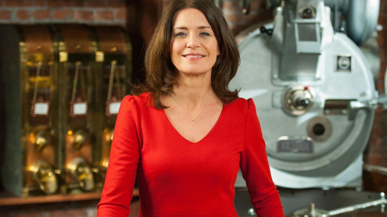 """Schauspielerin Patricia Schäfer am Set der ARD-Telenovela """"Rote Rosen"""""""