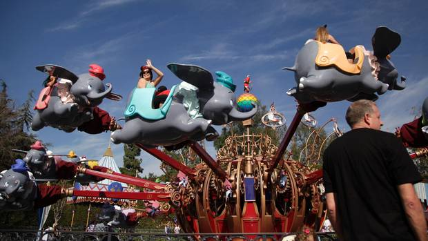 Disneyland im kalifornischen Anaheim, 40 Kilometer vor Los Angeles