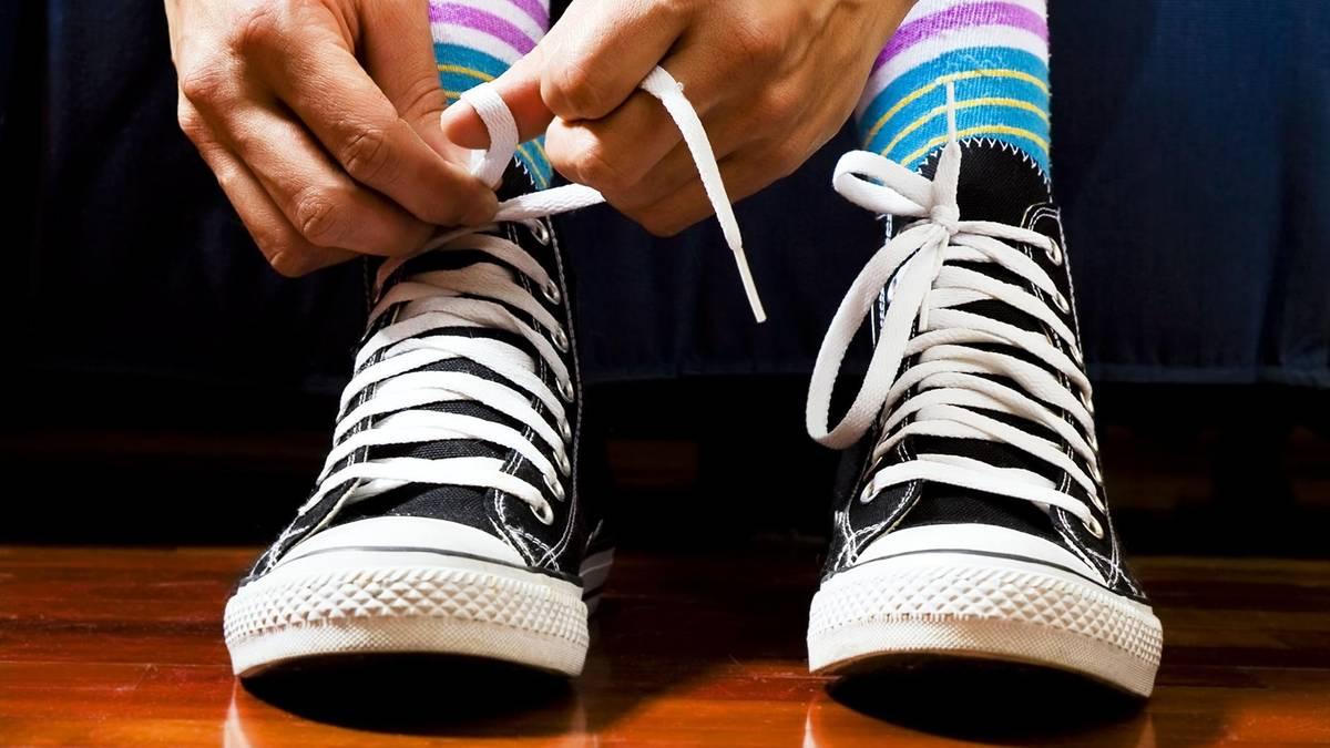 Warum lösen sich Schuhschleifen?