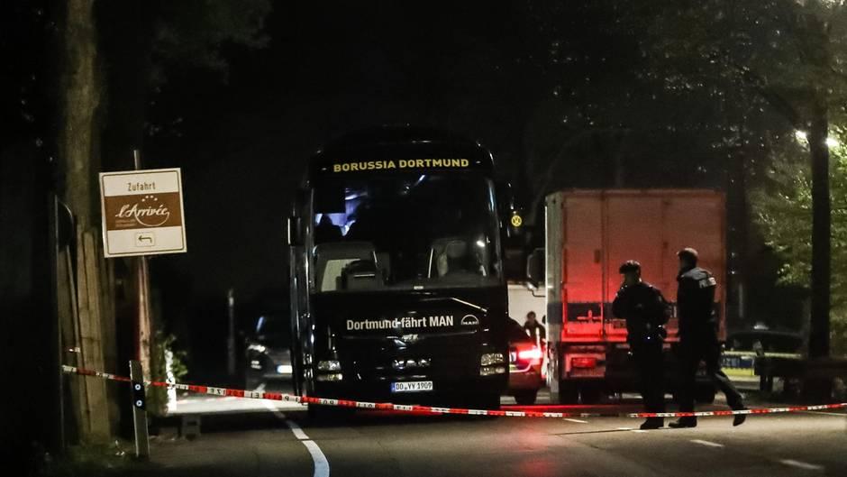 Mannschaftsbuss Borussia Dortmund