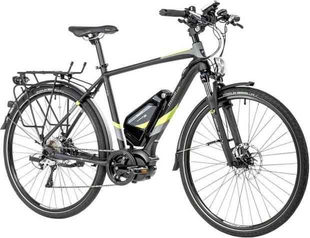 Das Attiva wurde als klassisches Touren-und Cityrad entworfen. Es punktet mit hochwertigen Komponenten.