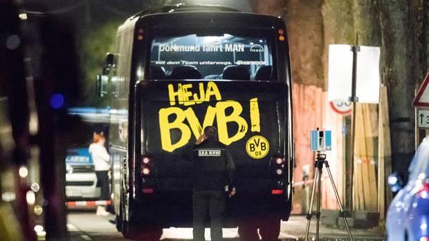 BVB Bus Anschlag