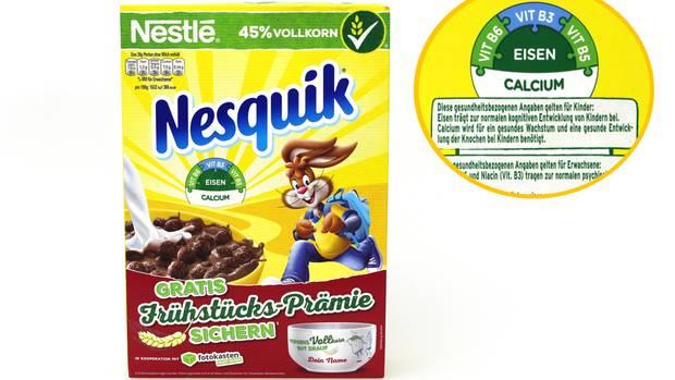 """Nestlés Knusperfrühstück sei eine """"dreiste Gesundheitslüge"""""""