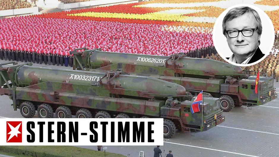 """Hans-Ulrich Jörges' Klartext: Nordkoreas Wahnsinn: """"Wer uns angreift, den verwandeln wir zu Asche"""""""