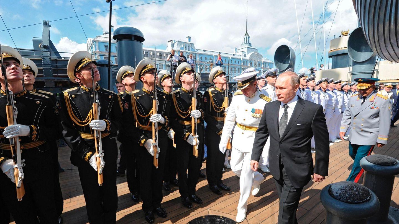 Putin Truppenbesuch Aurora