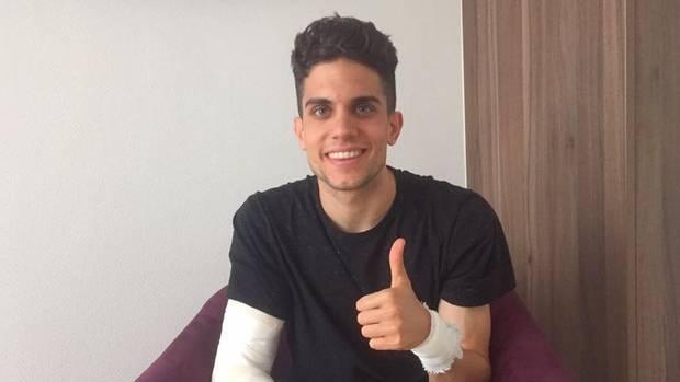 BVB-Spieler Marc Bartra postete am Tag nach dem Anschlag auf den Mannschaftsbus ein Foto von sich auf Facebook