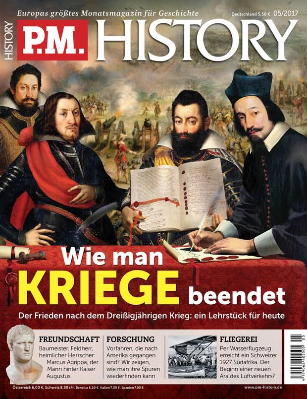 Das Interview mitChristoph Kampmann ist zuerst in PM HISTORY erschienen. Die neueste Ausgabe des Geschichtsmagazins ist ab Donnerstag, 13. April im Handel erhältlich. Hier geht es zum Abo-Shop