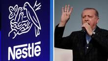 Nestle und Erdogan
