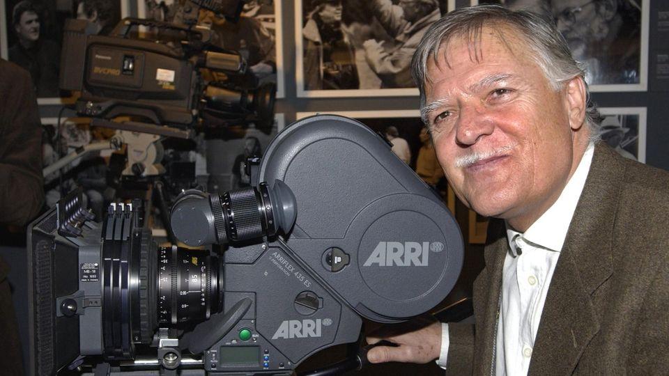 Kameramann Michael Ballhaus auf einem Archivbild von 2001