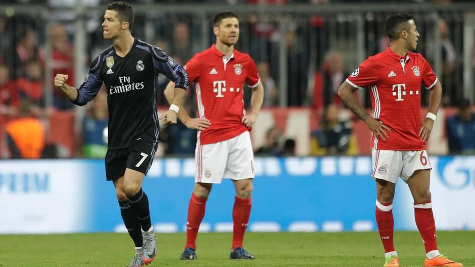 Champions League: Cristiano Ronaldo jubelt