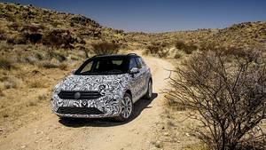 VW T-Roc Prototyp - wahlweise mit Front- oder Allradantrieb