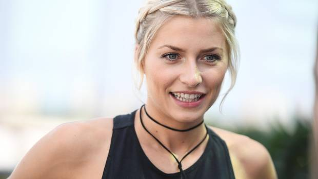 Lena Gercke Tauft Kreuzfahrtschiff Aida Perla Auf Mallorca