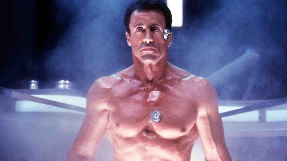 "Sylvester Stallone 1993 im Film ""Demolition Man"""