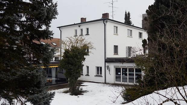 Die Villa von Adi Dassler - heute ein Fitnesstudio für Adidas-Angestellte