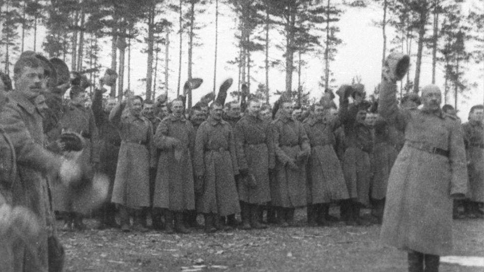 Russische Kriegsbefürworter