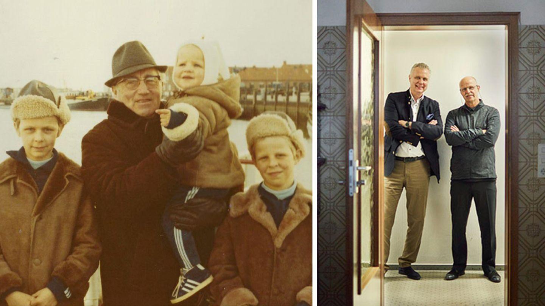 Damals und heute: Die Enkel Adi Dasslers möchten in der Branche mitmischen - und an das Erbe ihres Großvaters erinnern