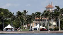 Das Mar-a-Lago, Privatclub von US-Präsident Donald Trump in Palm Beach in Florida