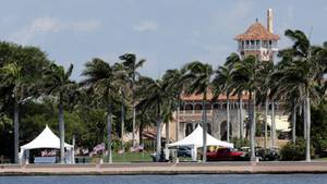 Das Mar-a-Lago, Privatclub von US-Präsident Donald Trump in Palm Beach in Florida
