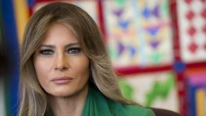 Melania Trump hadert noch mit ihrer neuen Rolle