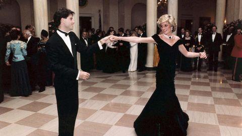 Prinzessin Diana mit John Travolta