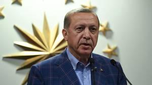 """Staatschef Erdogan sprach von einer """"historischen Entscheidung"""""""