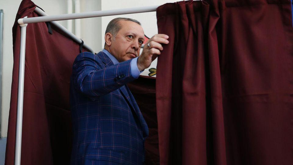 Recep Tayyip Erdogan: Vorwurf der Wahlmanipulation