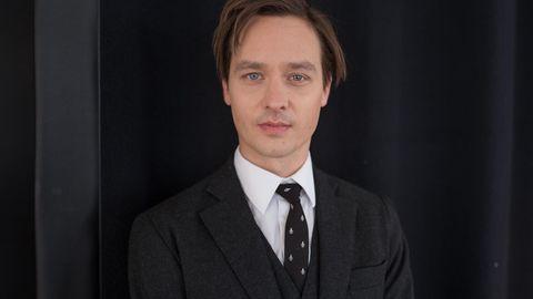 Porträt von Schauspieler und Musiker Tom Schilling