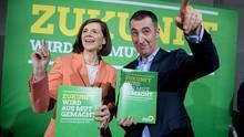 Grünen-Spitzenkandidaten Katrin Göring-Eckardt und Cem Özdemir