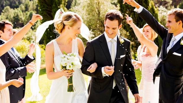 Wedding: A marriage is worthwhile for tax purposes