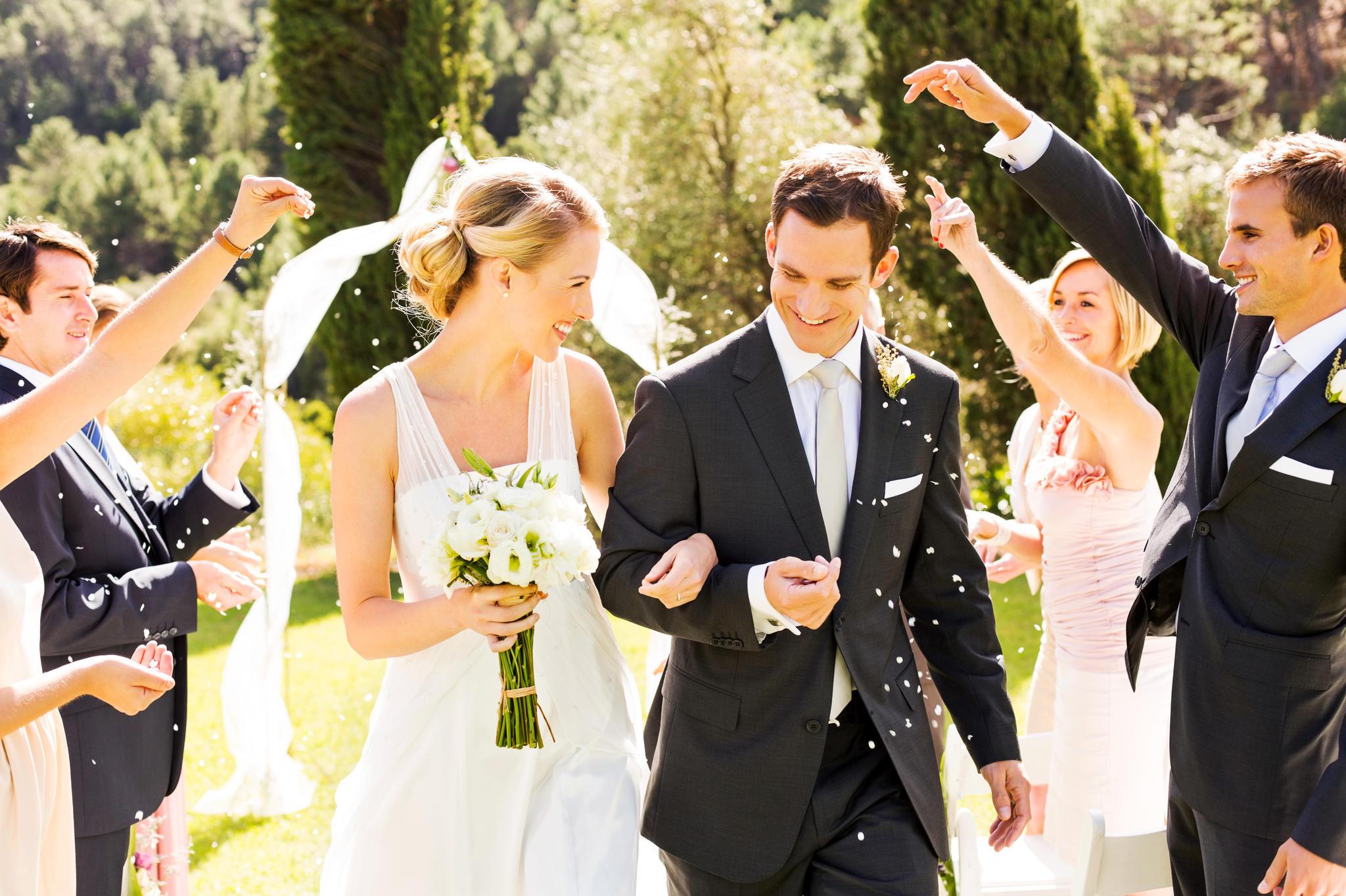 glückliche Hochzeit mein bester Freund