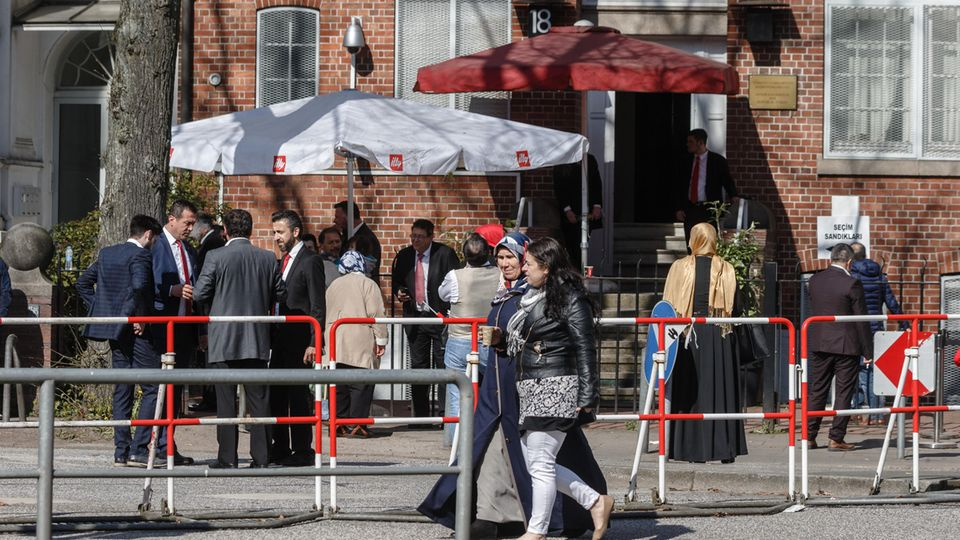 Türkei Referendum in Hamburg