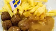 Köttbullar im Ikea-Restaurant