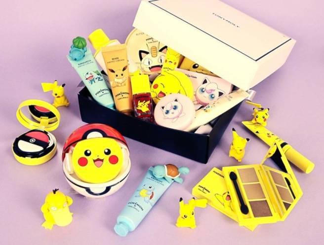Die Marke Tony Moly bringt Pokemon-Schminke auf den Markt