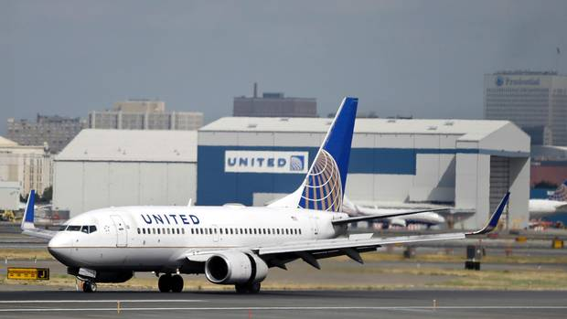 Boeing 737 von United Airlines