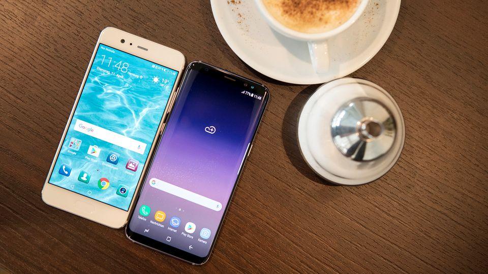 Neues Smartphone: Galaxy S8 im Test: Eigentlich spitze, aber ...