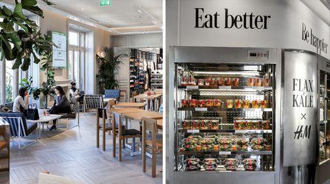 Café in Flagshipstore: Hier schenkt H&M auch Kaffee aus