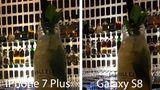 Gleiche Position, doch hier hat das Galaxy S8 den Autofokus auf den Bildhintergrund gesetzt. Wenn man ranzoomt, kann man aber noch jedes Etikett deutlich lesen - im schummrigen Licht profitiert das S8 von der lichtstarken Blende.