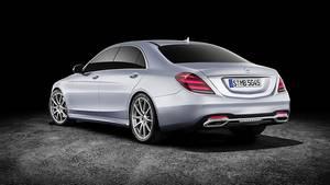 Mercedes S-Klasse Modellpflege 2017 - von außen nahezu unverändert