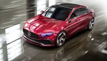 Mercedes Concept A Sedan - 4,59 Meter lang