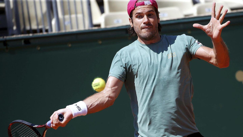 Tennisspieler Tommy Haas beim Turnier in Monte Carlo