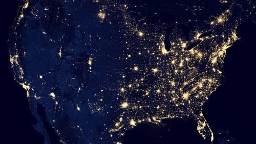 Nasa Erde Nacht