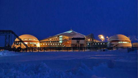 44 Grad minus und schwerer Schneefall sind Alltag in der Basis.